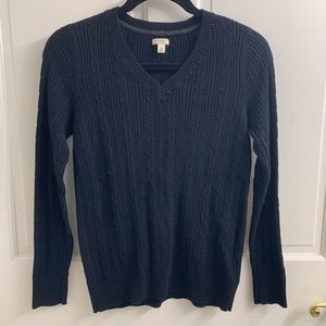 SONOMA Black V Neck Sweater Size XS